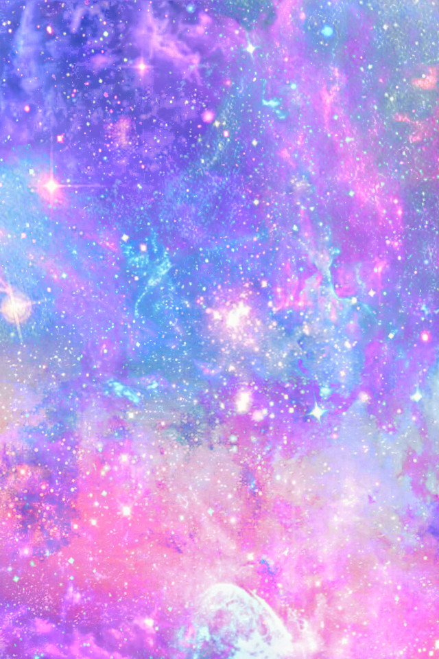 #freetoedit @mpink88 #glitter #sparkle #galaxy #sky #stars #pastel #cosmos #shimmer #pink #purple #colorful #art #cute #universe #space #wallpaper #background #overlay