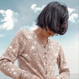 freetoedit glitter glitterclothes sky skychange aiselect aesthetic glitteraesthetic glittervibes