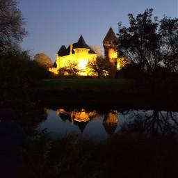 freetoedit castle nightphotography nightshot myphotography