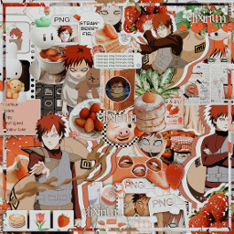 naruto narutoedit narutoshippuden narutouzumaki gaara gaaraofthesand gaaraofsand gaaraedit narutogaara red aesthetic redaesthetic strawberry strawberryaesthetic anime manga aestheticedit complex complexedit gift