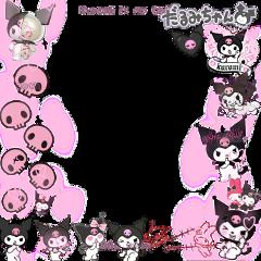 kuromi hellokitty sanrio melody melodyxkuromi pinkskull skill kuromiframe melodyframe pinkframe soft softframe alt altframe alternative pinkskullftame japanese japanesekuromi pinkkuromi pinkkuromiframe sanrioframe hellokittyframe freetoedit