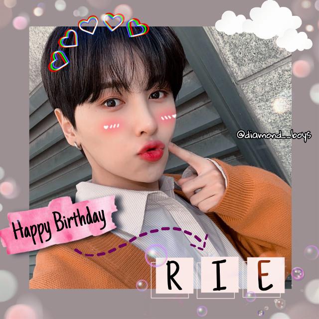 ♡~Happy Birthday RIE ♡💙💙🎂🎂💙💙 __  __  __  __  __  #HappyBirthday #Rei #HappyReiDay #OnlyOneOf #OnlyOneOfRei #ReiDay #Kpop #LeeSungho #SunghoOnlyoneof #LeeSungho #kpop #Reiedit #OnlyOneOf