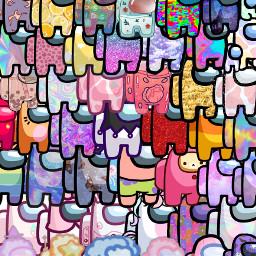 amoungus colorful wallpaper challenge freetoedit ecpatternmaking patternmaking