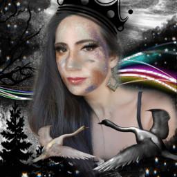 cielonegro cieloestrellado galaxia galaxiastumblr patos mujerhermosa mujerbonita💃 cielodenoche freetoedit mujerbonita srcblackclouds blackclouds