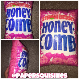 freetoedit papersquishy honeycomb cereal art crafts taglist 4kfollowers