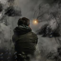 freetoedit kinora myremix darkness dark srcblackclouds