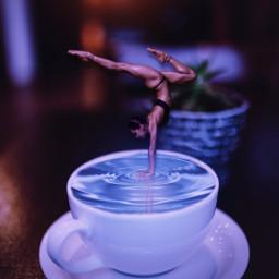 freetoedit surreal surrealart girl dancer