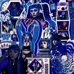 freetoedit remixit blue blueaesthetic darkblue ashnikko complexedit pretty celebedit celebrity
