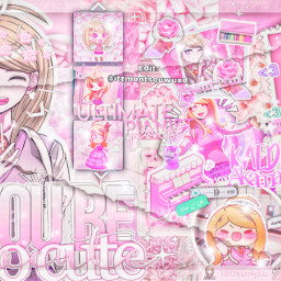 danganronpav3 danganronpav3kaedeakamatsu kaedeakamatsu pink pinkedit edit nosequemasponer no freetoedit