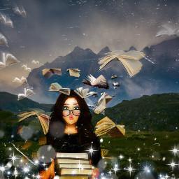 ilovebooks wereinthistogether nature magic flyingbookschallenge freetoedit