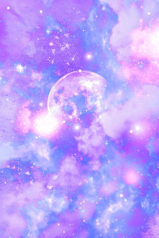 #freetoedit @mpink88 #glitter #sparkle #galaxy #sky #stars #moon #clouds #pink #purple #pastel #cute #girly #kawaii #space #universe #cosmos #paintsplatter #art #wallpaper #background #overlay