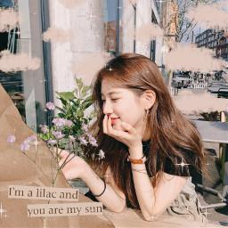 beigeaesthetic beigeedit suzybae baesuzy flowers pastelcolors kdrama kpop sparkle glitter clouds cute freetoedit