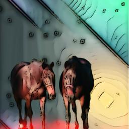 picesart horses saturday 2020 freetoedit