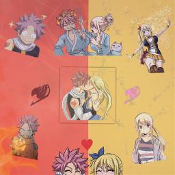 ship natsu lucy fairytail anime freetoedit