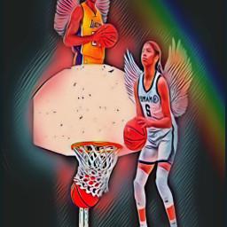 freetoedit hoop basketball kobe gianna irchoopdreams