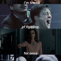 freetoedit sad harrypotter hp harryjamespotter hermione hermionejeangranger ronbiliusweasley ronweasley ronaldbiliusweasley ronaldweasley draco dracoluciusmalfoy dracomalfoy