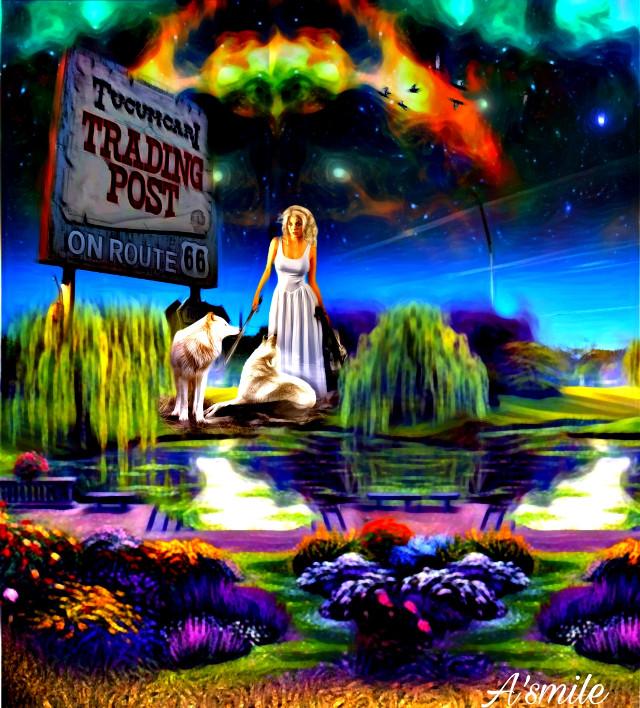 #@asweetsmile1 #background #stars #background #creative #creativeart #moon #blendedimages #beautiful