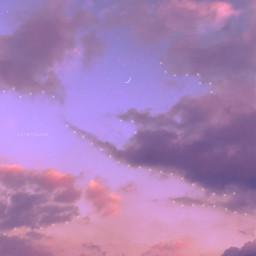 sky skies myphotography myedit skybyizzah editbyizzah cloud clouds star stars moon aesthetic purple purpleaesthetic aesthetics violet violetaesthetic pastel sunrise dreamyaesthetic lofi pinkaesthetic pinkvibes purplevibes sunsetlover