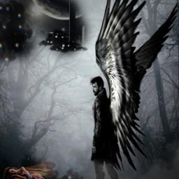 freetoedit angels srcblackclouds blackclouds