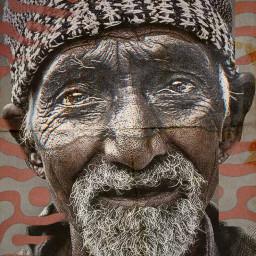 oldman@doriesparkman freetoedit oldman canvaseffectandpattern