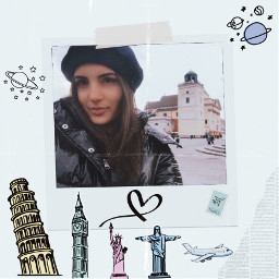 travel traveltreasures travelphotography people girl vintage photography remix edit try tryitout free freetoedit freetoeditcollection bookmark pisa london bigben airplane airplaneviewremix frames framesticker blurryface effect picsart