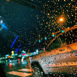 freetoedit rain picsart daisysquad ridaphotography cars lights green blue black midnight night raindrops cool nature makeawesome awesome live amazing lit super yes