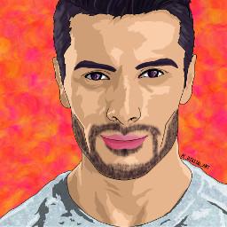 ac_digital_art art artist picsart picsartedit painting drawing portrait people guy graphicart graphicdesign vectorart vector vectors digitalart digitalpainting digitaldrawing
