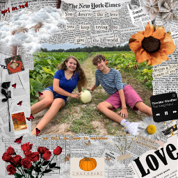 girlinred wefellinloveinoctober autumn autumnvibes sunflower fallingleaves fall pumpkin spookyszn pumpkinpatch2020 freetoedit