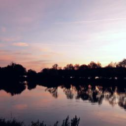 sunset riversunsets rhein freetoedit