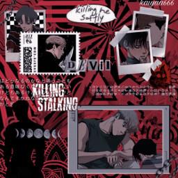 killingstalking killingstalkingedit sangwoo sangwooxyoonbum sangwookillingstalking sangwooedit yoonbum yoonbumedit ks aesthetic red