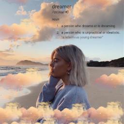 clouds cloud dreamer dream dreaming freetoedit