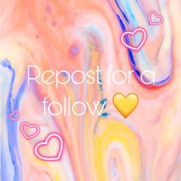 repostplease repostforafollow pleasefollowme yellow heart afollowplease freetoedit