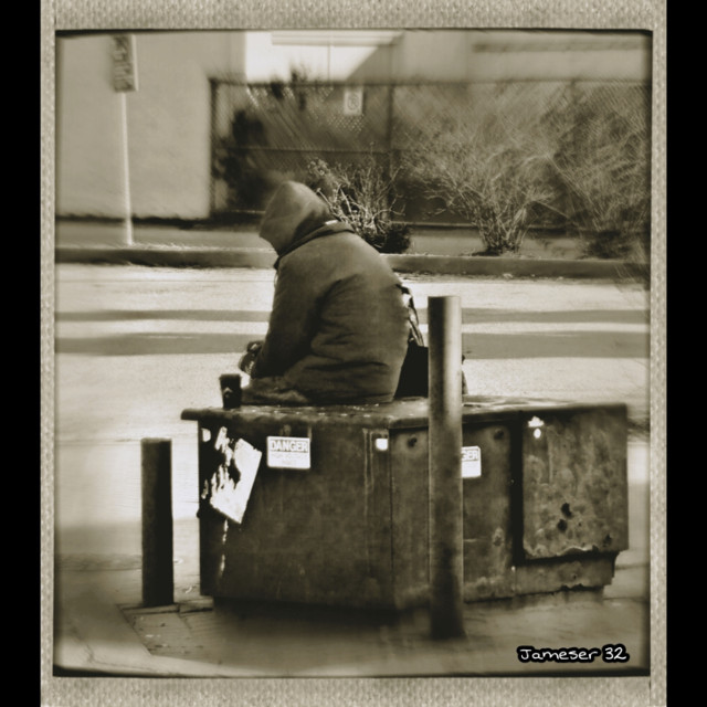 #photography #blackabdwhitephotography  #blackabdwhite #sitting #waiting #man