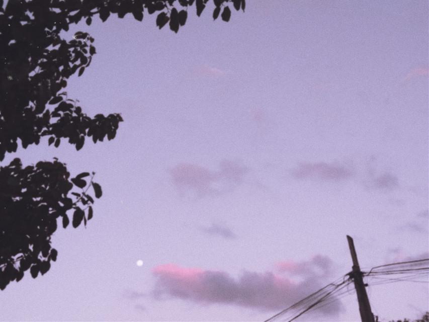 #aesthetic #clouds #tumblr #eboy #egirl #indiekid #sky #moon #nature #