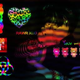 scene emo scemo scenemo sceneemo scenecore emocore rainbow lgbtq enby nonbinary sceneenby emoenby rawring20s rawrxd freetoedit