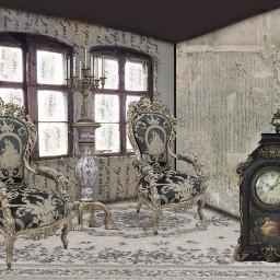 ccc picsart zimmer background verzaubern verzierungen barock freetoedit
