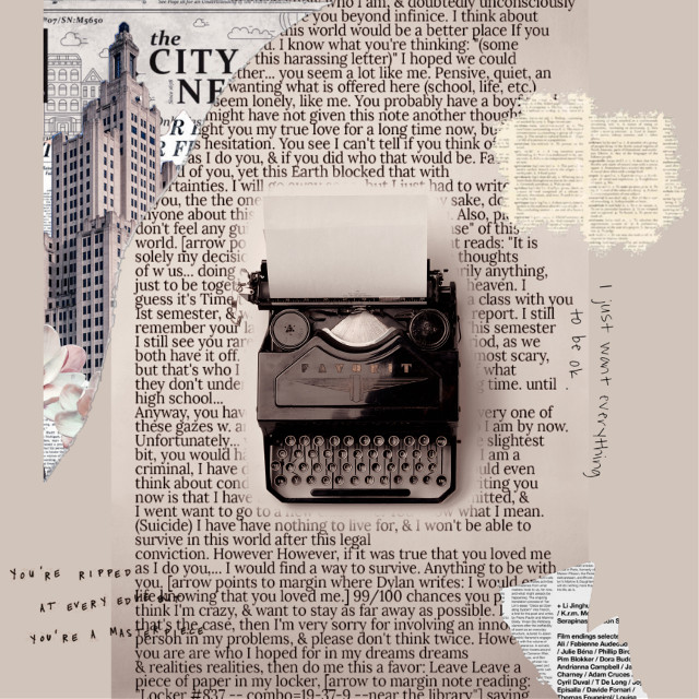 #vintage #macchinadascrivere #text #newspaper #giornale #replay #replays #replayedit #useme #firstreplay #remixme
