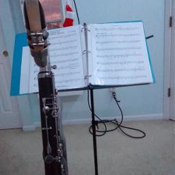 bassclarinet practicing music