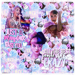 melaniemartinez cute aesthetic bi bisexualpride bisexual wallpaper background crybaby madhatter song music conplexedit freetoedit