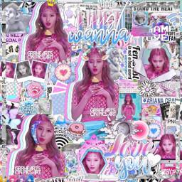 sana pink blue complex edit overlay freetoedit