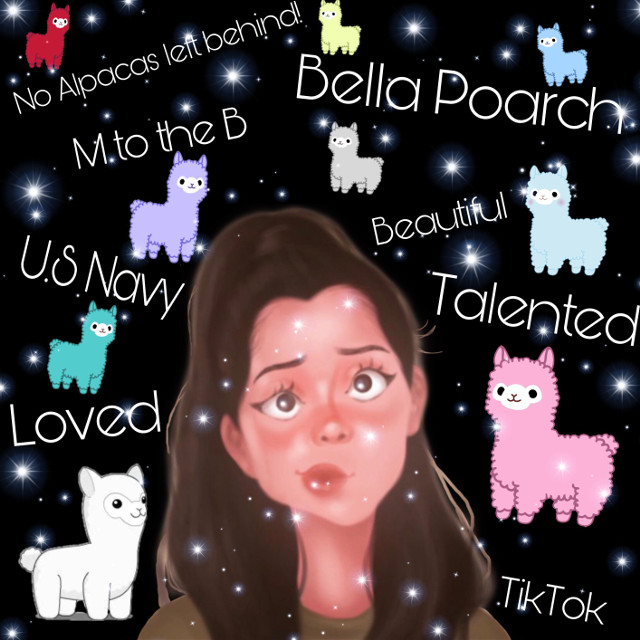 #bellapoarch #usnavy  #tiktokstar #alpacas #freetoedit