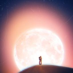 freetoedit makeawesome remix mrlb2000 myart cool romantic moon universe
