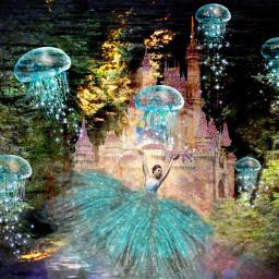 darkforest enchantedforest sea princess freetoedit ircgorgeousforest gorgeousforest