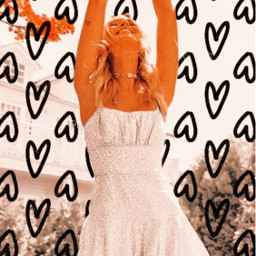aesthetic pintrestedit havefun hearts heart heartbackground aesthticbackground loveintheair sunny orange orangeaesthetic toomuchfilter oops oopsydaisy oopsididitagain flowers happy happygirl dress girl dress_style freetoedit