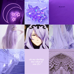 camilla fireemblem fireemblemfates camillafireemblem fireemblemcamilla fireemblemconquest moodboard purpleaesthetic
