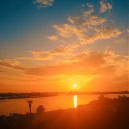 sun sunshineplease waterfront water sky