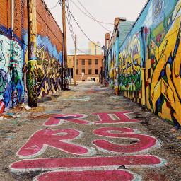 streetart streetphotography kansascity alleyart painting kcmo pcbuildingsisee buildingsisee