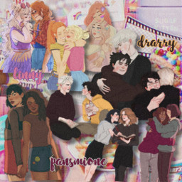 harrypotter hp complexedit linny drarry pansmione ship ships freetoedit