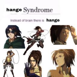 aot attackontitan meme facebookmemes anime hange hangezoe zoehange freetoedit