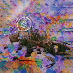 skelleton dead love textbubble color colorlight blue green picsart picsartedit picsarteffects picsartedits picsartpassion picsartgirl mask glitch fx effectstool picsartstickers freetoedit